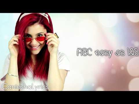 Comeback Video #3 - Ariana Grande - ABC (Lyrics Video) HD