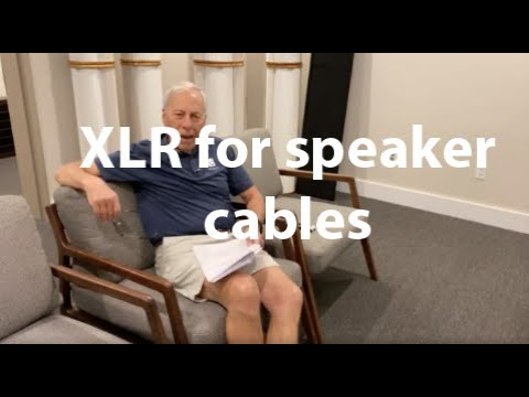 XLR For Speaker Cables