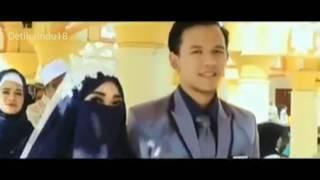 Di Jamin Baper Akad Nikah Gadis Bercadar    Muslimah Wedding    Sholawat Cinta