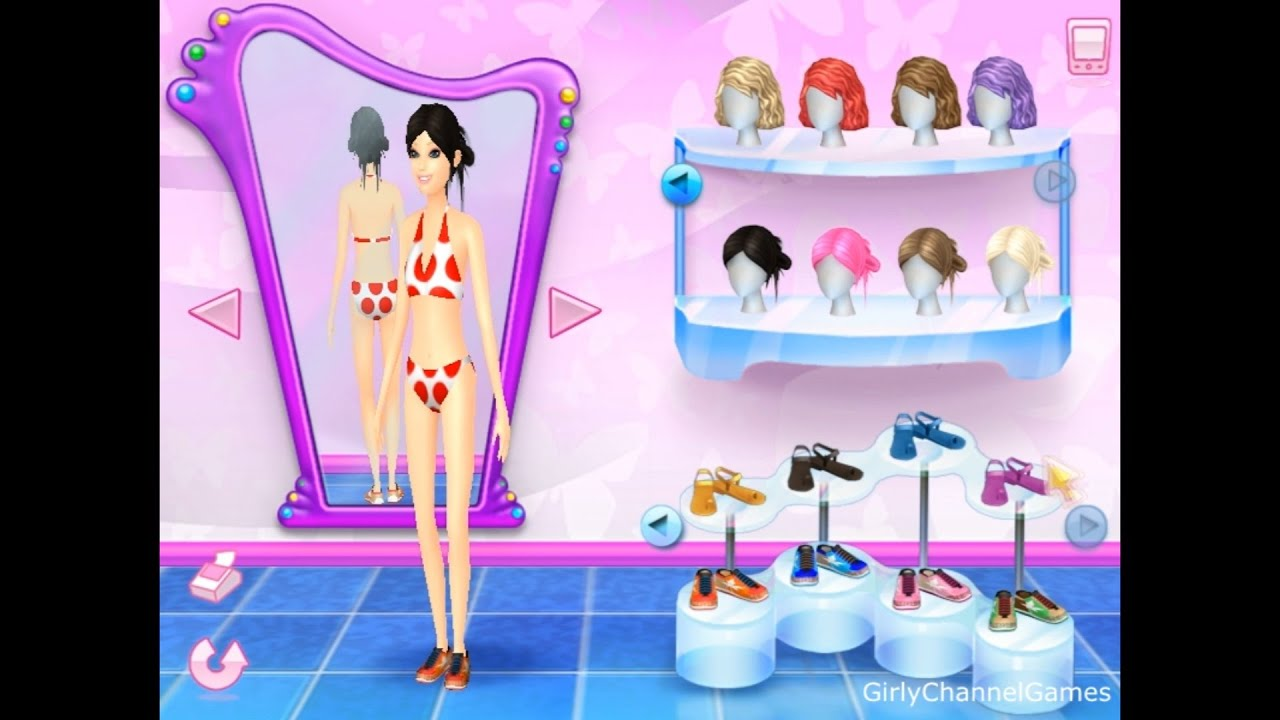 Barbie fashion show an eye for style game pc episode 6 by girly channel games youtube Fashion style games online