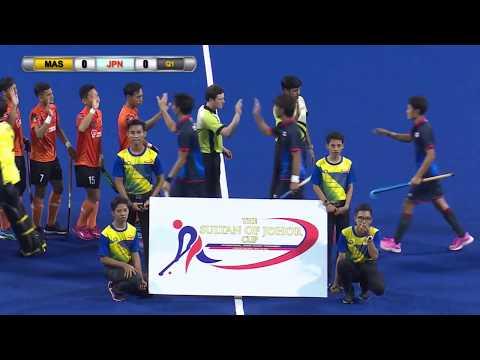 Malaysia v Japan Day 3 Sultan of Johor Cup Hockey 2017