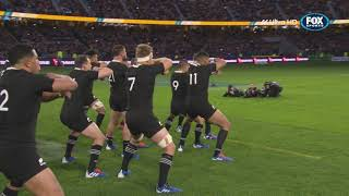 The First All Blacks HAKA captured in 4k | Fox Rugby