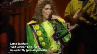 "Laura Branigan - ""Self Control"" Live (1990)"