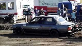 Carpulling Oosterland 2008 bmw Trouble Maker finale autotrek