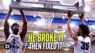 Cody Riley BREAKS The Backboard & Then FIXES ...