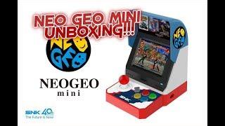 neo geo mini unboxing