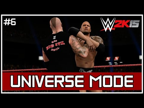 "WWE 2K15 Universe Mode - RAW: ""World Title Rematch... Get The Tables!"" #6 [Custom Universe][PS4