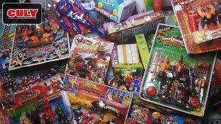 Cu lỳ mua đồ chơi mới rất nhiều siêu nhân robot , lego, xe doremon đẹp shopping