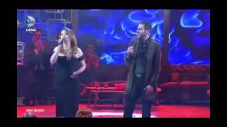 Erkan Kolçak Köstendil - Şebnem Bozoklu 'Yanarım' Canlı Performans - Beyaz Show