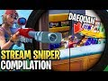 Best Fortnite 'Stream Sniper' Compilation! #2