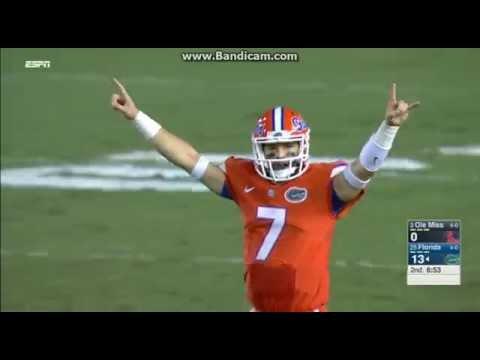 College Football: Florida Gators Vs The Ole Miss Rebels