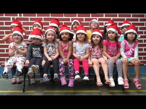 Alunos da Educação Infantil em clima de Natal