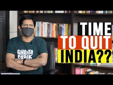 Time to Quit India? 😳😱😔- Ep.58 #TheDeshbhakt