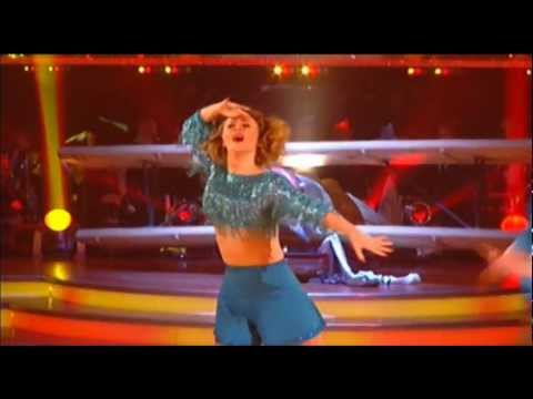 Kimberly Walsh Dances the Charleston - Strictly Come Dancing