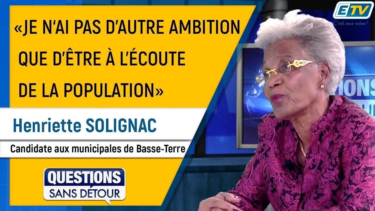 Questions Sans Détour avec Henriette SOLIGNAC