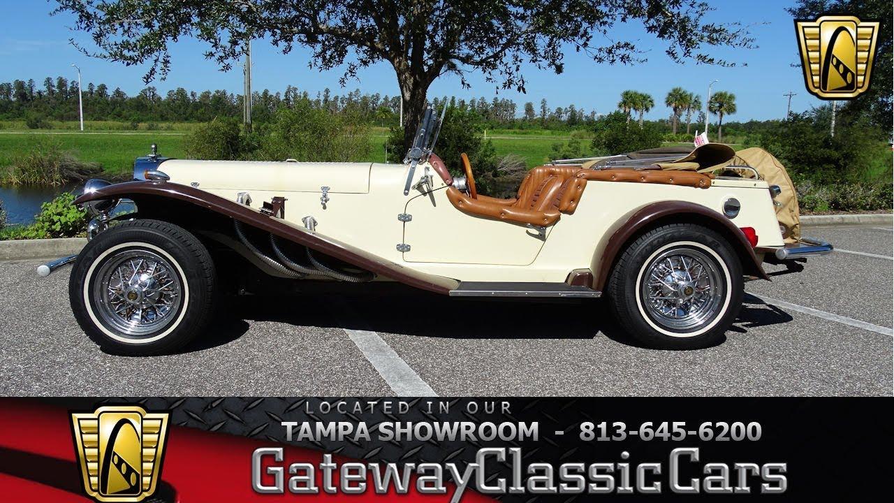 1005 Tpa 1929 Mercedes Benz Gazelle Kit Car 23l Inline 4 Cyl