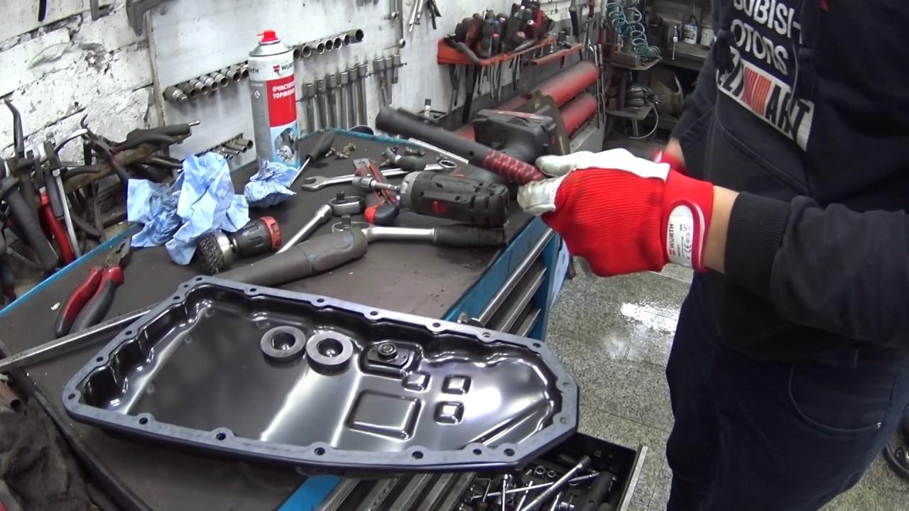 Замена масла вариатора(CVT) Outlander XL