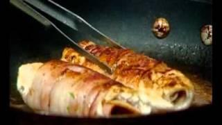 Sandro: Pármai sonkával töltött, bacon-be csavart csirkerolád