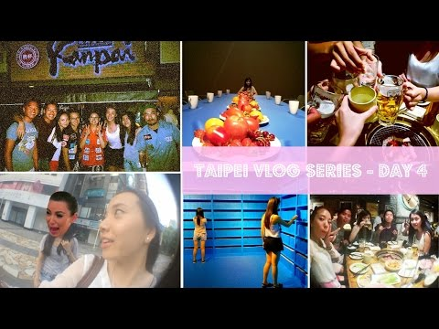 Taipei Summer '15 Vlog (Day 4) - KISSING FOR FREE BEEF?!
