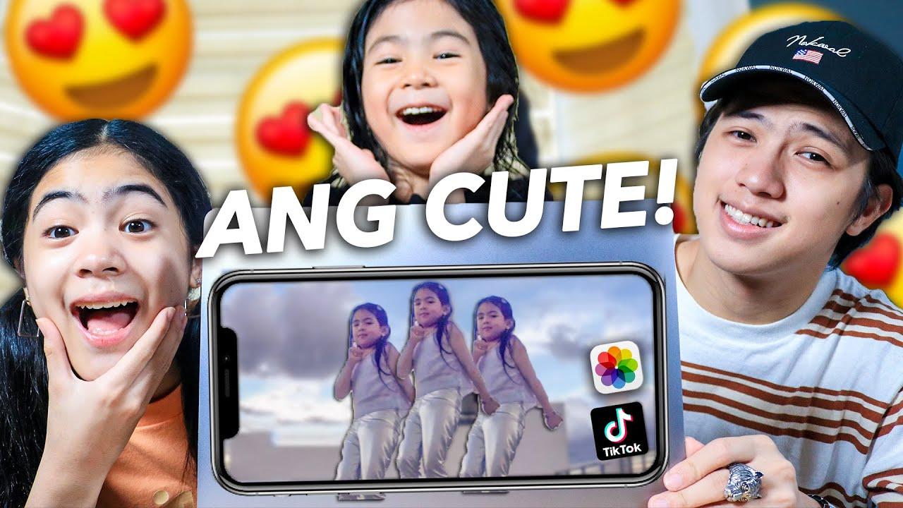 Reacting To NATALIAS Unseen TikTok & Funny Videos (Cute Haha!) | Ranz and niana