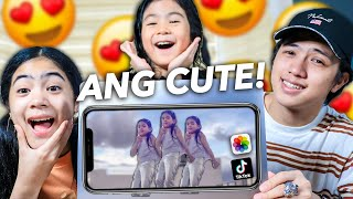 Reacting To NATALIAS Unseen TikTok & Funny Videos (Cute Haha!) | Ranz and niana