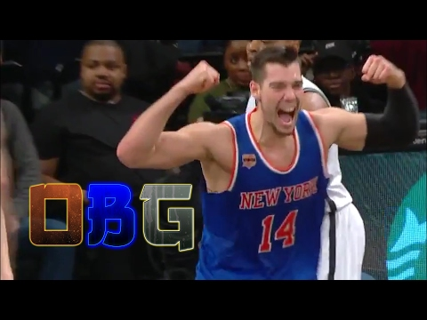 Knicks Full Game Highlights at Nets (2/1/17) Melo Sits in 4th Qrt & Willy Hernangomez SHINES!