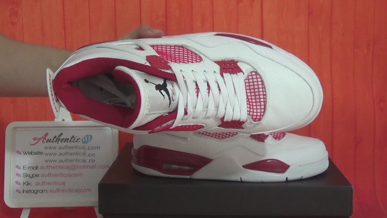 Authentic Air Jordan 4 Retro Alternate 89