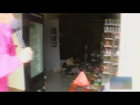 Looters Break Into Family Dollar Store And Reporter Confronts Them