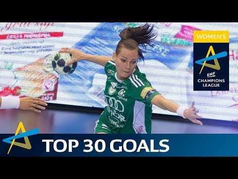 Top 30 goals of the 2016/17 Women's EHF Champions League