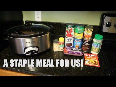 Cook With Me - Crockpot Taco Soup