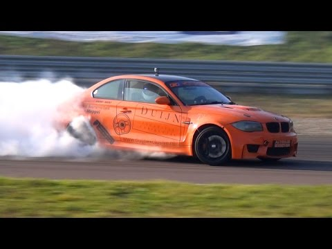 INSANE BMW 1M Swap M5 V10 Engine - Drifting & Manji On Track!