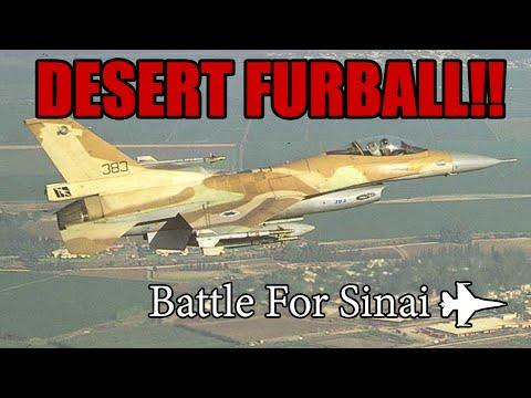 Falcon 4 BMS DESERT FURBALL!! (Battle for Sinai)