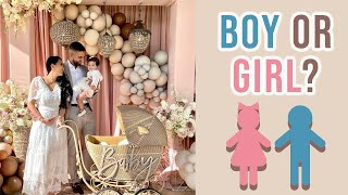 (NEW) We Are Having A... | Gender Reveal Vlog | Dhar & Laura