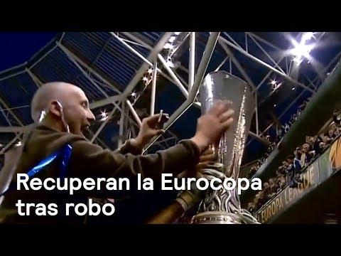 Recuperan copa de la europa league, robada en guanajuato - en punto con denise maerker