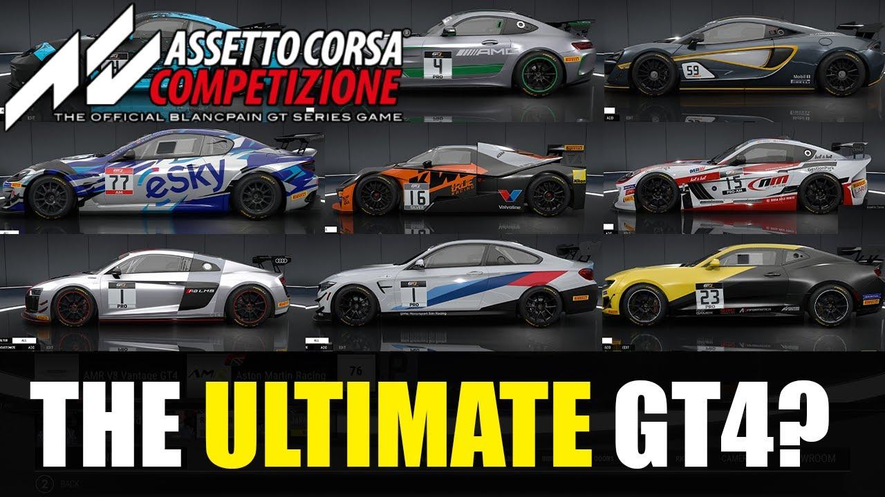 Assetto Corsa Competizione: Which GT4 rules them all?