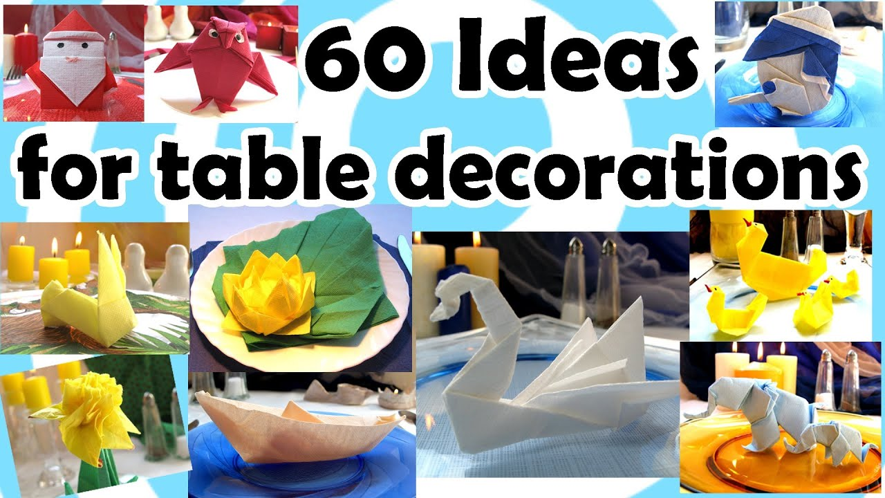 #C2A609 60 Ideas For Table Decorations With Origami   5285 decoration table noel origami 1920x1080 px @ aertt.com
