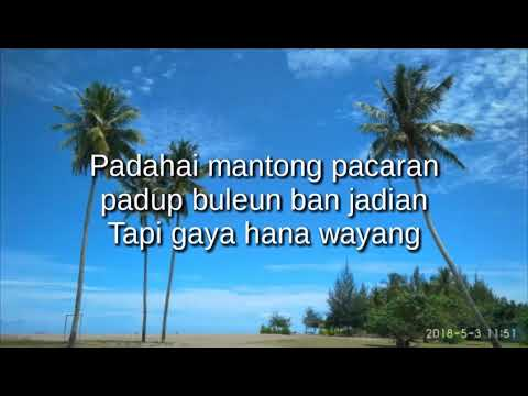Lirik lagu Apache Hana wayang