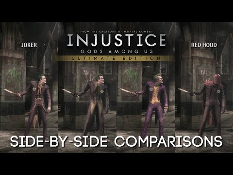 [PC] Injustice: Gods Among Us | All Costumes / Outfits / Skins
