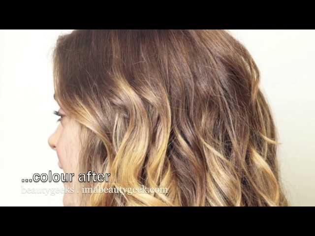 Baby ombre how to diy ballyage or balayage highlights at home baby ombre how to diy ballyage or balayage highlights at home beautygeeks solutioingenieria Images