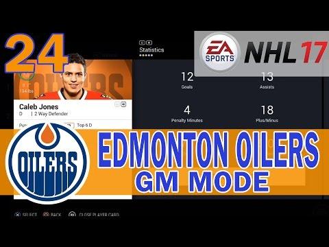 Caleb Jones is the GOAT | NHL 17 Edmonton Oilers Franchise Mode Ep. 24