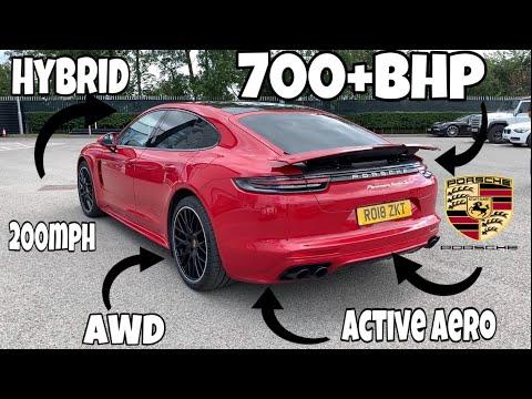 Porsche Panamera 2020 Turbo S E-Hybrid drive and review
