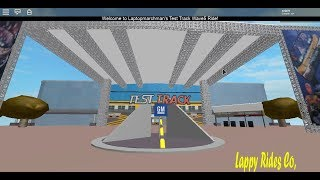 Roblox Test Track GM