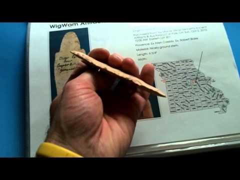 Adena Arrowhead - Native American Artifact