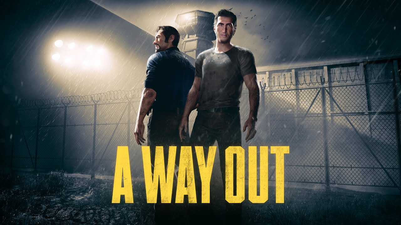 A Way Out Art + Logo