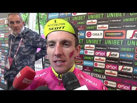 Simon Yates - Post-race interview - Stage 16 - Giro d'Italia / Tour of Italy 2018