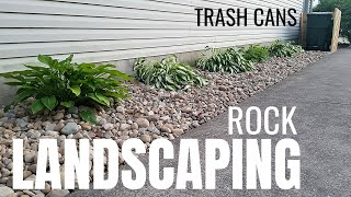 Landscape Ideas With River Rocks Youtube