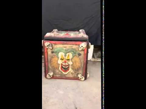 Halloween Jack In The Box Prop.Animated Jack In The Box Halloween Haunted House Prop