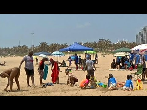 Many celebrate day of Goodwill at Durban beaches