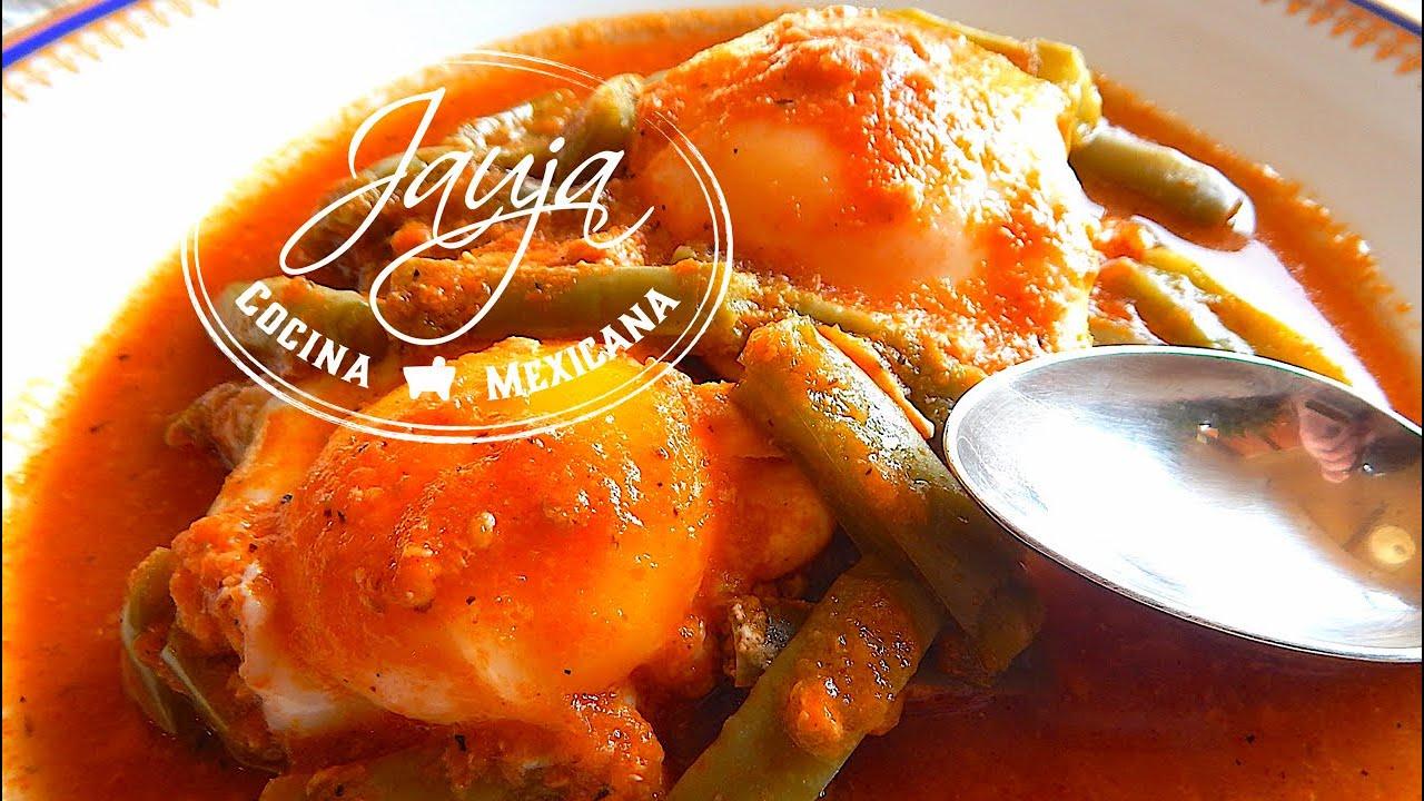 Huevos Ahogados con Nopales Jauja Cocina Mexicana