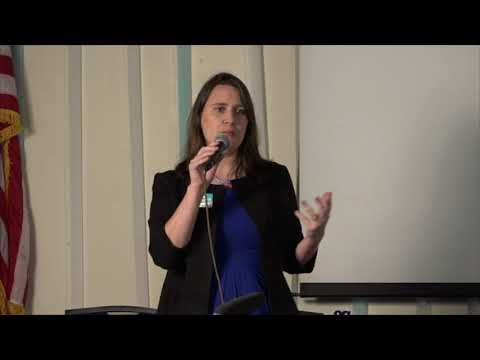Erin Zwiener, Democratic Candidate for Texas State House, District 45 at WimDems Forum 12118